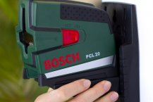 Bosch PCL 20 Linienlaser Praxistest - Zusatzfunktionen und Zubehör