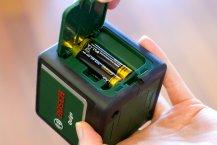 Bosch Quigo Linienlaser Lieferumfang